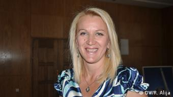 Fahrija Ljeskofcali, nastavnica bosanskog jezika u Prizrenu