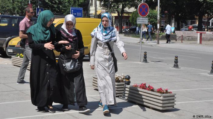 Schülerinnen der Medrese in Prizren