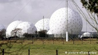 Selia e GCHQ (Government Communications Headquarters) në Britaninë e Madhe në Jorkshire