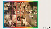 """GLAM! THE PERFORMANCE OF STYLE. 14. JUNI - 22. SEP. 2013. Glam bezeichnet den extravaganten Stil, den Musiker wie David Bowie und Marc Bolan in England in den frühen 1970er-Jahren populär machten ***Das Pressebild darf nur in Zusammenhang mit einer Berichterstattung über die Ausstellung verwendet werden*** Bildunterschriften """"Glam!"""" / Copyrights """"GLAM!"""" Peter Phillips Six Times Eight, Dreaming, 1974 Lithographie auf Papier 610 x 797 mm © Peter Phillips Courtesy: Tate. Presented by Waddington Galleries through the Institute of Contemporary Prints 1975"""