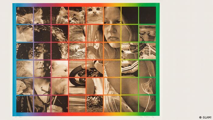 На нашей фотографии - картина Петера Филипса Шесть на восемь. Мечтая 1974 года.