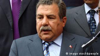 Der türkische Innenminister Muammer Guler (photo: Edge image Celebrities Europe)