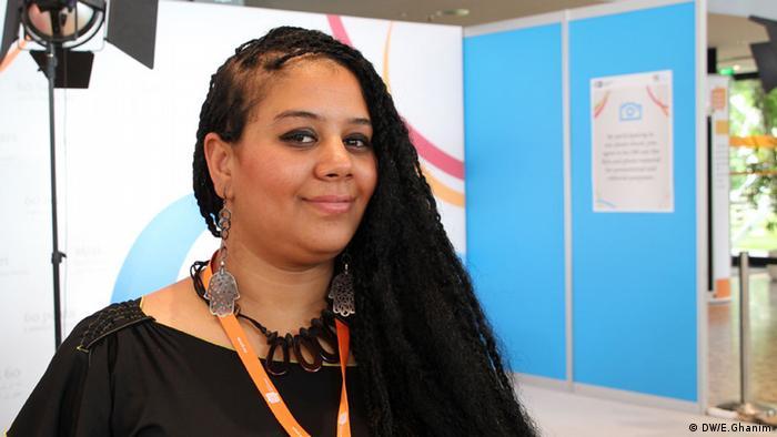 Die tunesische Bloggerin Asma Abdullah