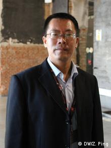 1 Teilnehmer, chinesischer Rechtsanwalt Teng Biao Copyright. DW/Zhang Ping