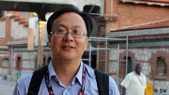 Teilnehmer, chinesischer Rechtsanwalt Liang Xiaojun. Foto: DW/Zhang Ping. 13.06.2013