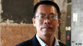 Teilnehmer, chinesischer Rechtsanwalt Teng Biao. Foto: DW/Zhang Ping. 13.06.2013