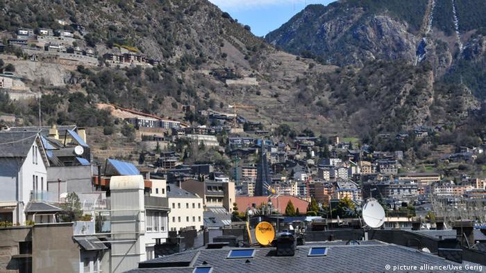 Stadtübersicht Andorra La Vella (picture alliance/Uwe Gerig)