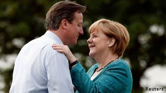 G 8 Treffen in Nordirland Cameron Merkel