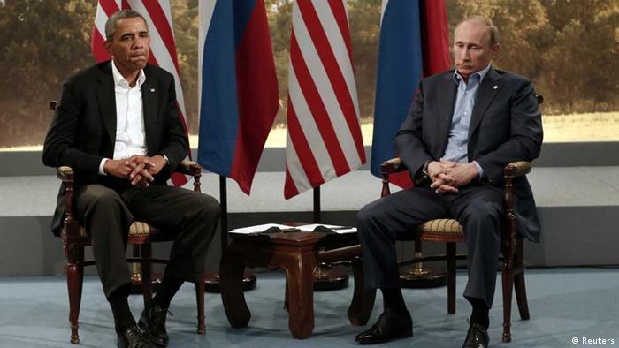 Obama şi Putin la summitul G-8