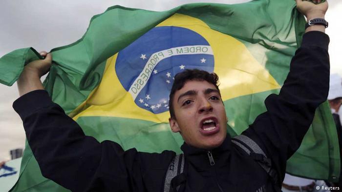 Brasilien, Protest gegen den Confederations Cup (Foto: REUTERS)