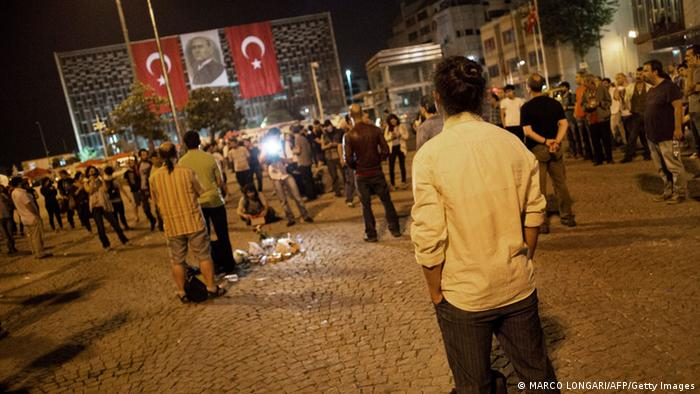 На площади Таксим в Стамбуле