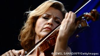 Violinistica Anne-Sophie Mutter