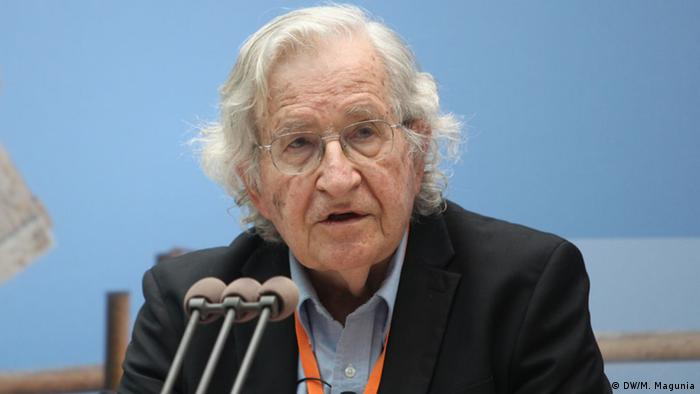 Noam Chomsky - Linguist, philosopher, cognitive scientist, historian, social critic and political activist, USA (2013)