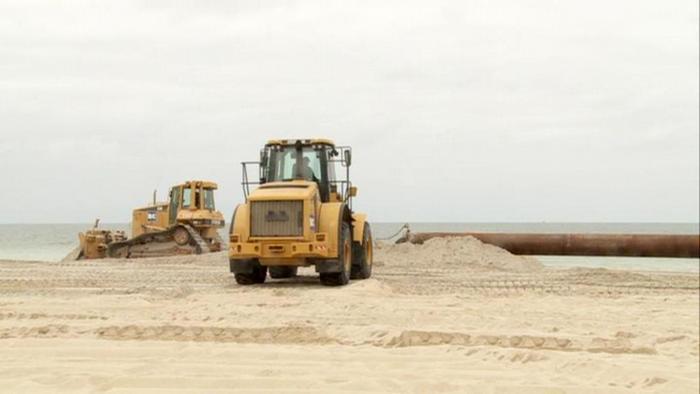 18.06.2013 DW Wirtschaft Kompakt Sylt Reportage Sand