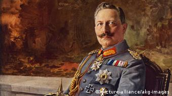 Porträt Kaiser Wilhelm II. (Mary Evans Picture Library)