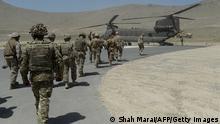 روند بازگشت نیروهای امریکایی از افغانستان