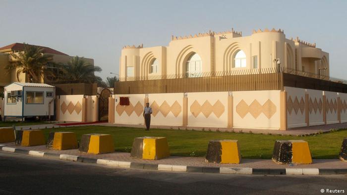 Das Gebäude der Taliban in Doha (Bild: REUTERS)