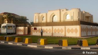 Das Talibanbüro in Doha (Foto: REUTERS/Mohammed Dabbous)
