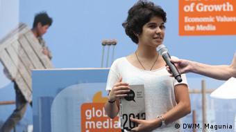 Hoda Lammqadam von der Jugendinitiative