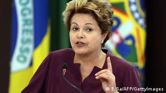 Brazilian President Dilma Rousseff (Photo credit EVARISTO SA/AFP/Getty Images)