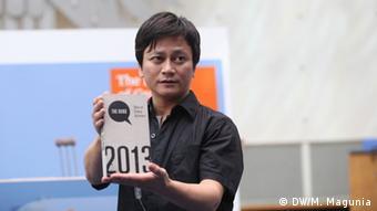 Li Chengpeng mit seinem Preis