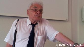 Ο Κλάους Σραμάιερ, πρώην γερμανός πρέσβης στα Σκόπια