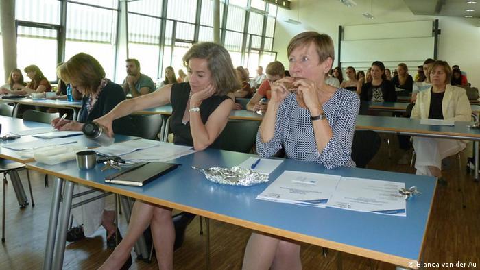 Brown Bag-Seminar an der FH Frankfurt (Foto: DW/Bianca von der Au)