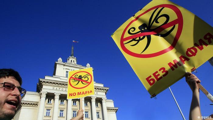 Antiregierungsproteste in Sofia