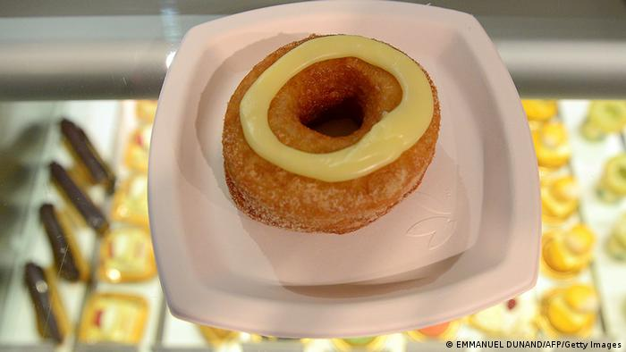 USA Bäckerei Cronut Gebäck in New York