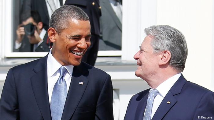 Obama in Berlin mit Gauck