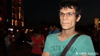 Der Soziologe Hüseyin Günes (Foto: DW/S. Sokollu)