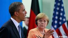 Obama in Berlin mit Merkel PK