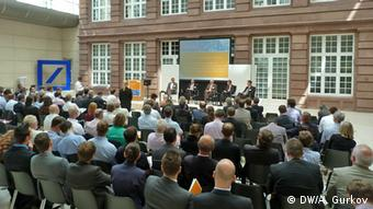 A conference of Germany's national energy agency in Berlin.