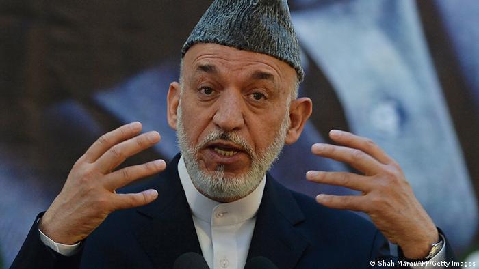 Afghanistans Präsident Hamid Karsai (Foto: AFP/Getty Images)