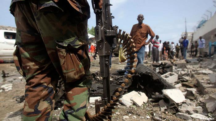 Somalia Anschlag auf UN-Gebäude in Mogadishu