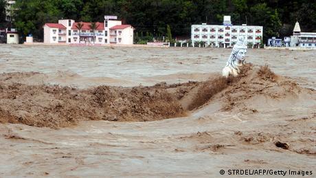 Indien Überschwemmungen Rishikesh