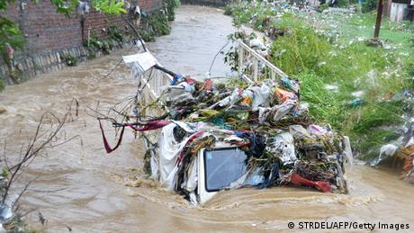 Indien Überschwemmungen Dehradun