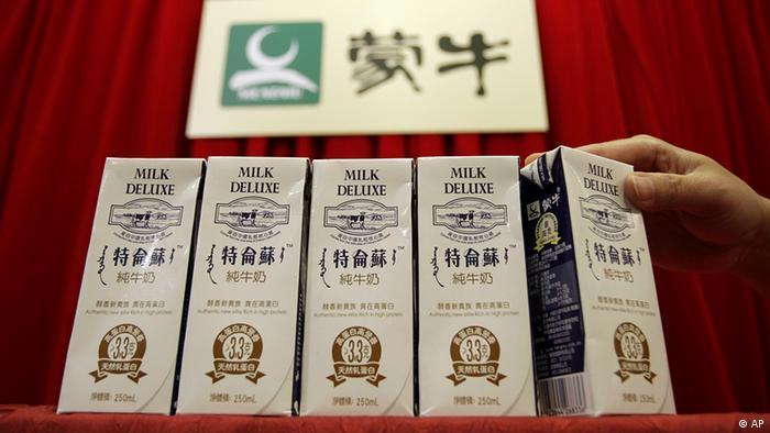 China Hongkong Milch wird aus Regalen geräumt