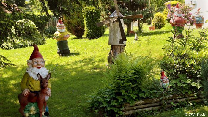 Садовые гномы в Германии