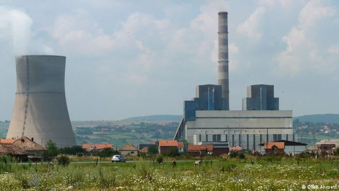 Power plant Obiliq in Kosovo