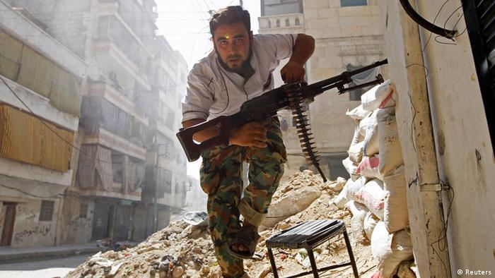 Сирійський повстанець в Алеппо
