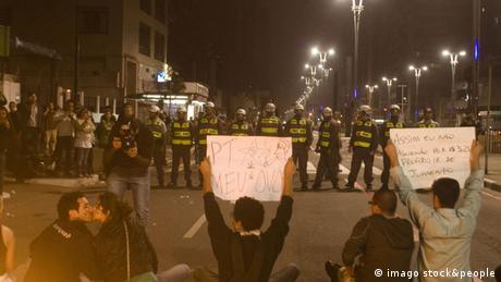 Proteste Brasilien