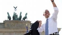 Obama in Berlin Rede Brandenburger Tor