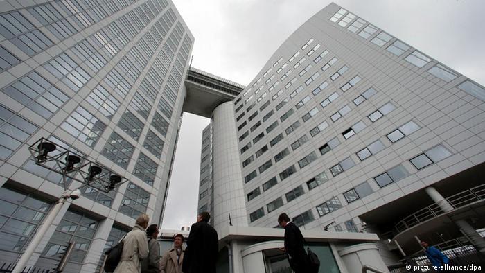 Internationaler Strafgerichtshof Den Haag (picture-alliance/dpa)