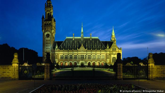 sitz internationaler gerichtshof