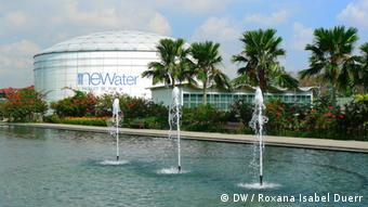 NEWater Anlage, Singapur