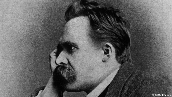 Friedrich Nietzche um 1885 (Foto by Hulton Archive/Getty Images)