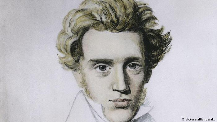 Sören Kierkegaard, Zeichnung von N.C.Kierkegaard