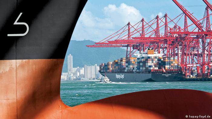 Hapag Lloyd Containerschifffahrt
