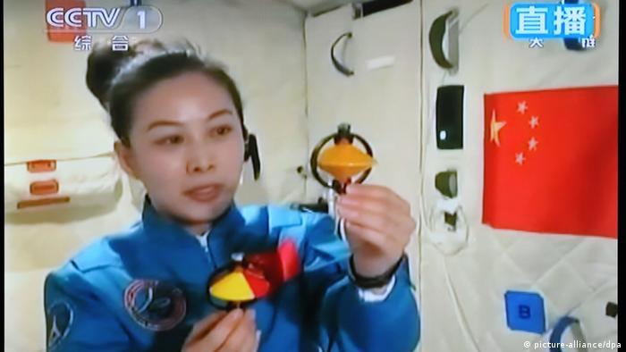 China Astronautin Wang Yaping (picture-alliance/dpa)